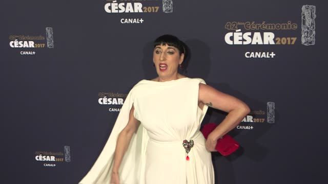 vidéos et rushes de rossy de palma, marthe villalonga, anne hidalgo, felix moati, daphne burki, at the photocall of the 2017 cesar film award ceremony in paris on... - cesar