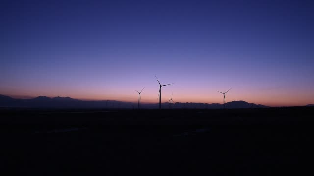 Rotary Wind Turbine In Beijing Countryside
