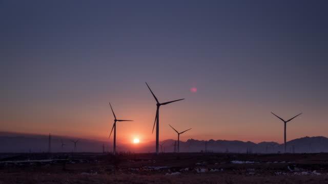 Rotary Wind Turbine In Beijing Countryside