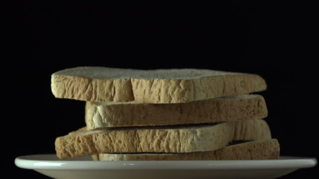 rotate:bread - white bread stock videos and b-roll footage
