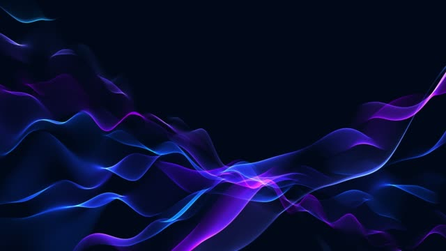 4k rotating abstract background loopable - blue background stock videos & royalty-free footage