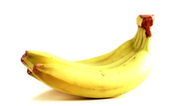 rotating banana bunch - banana stock videos & royalty-free footage