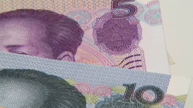 HD: Rotating Chinese currencies (video)
