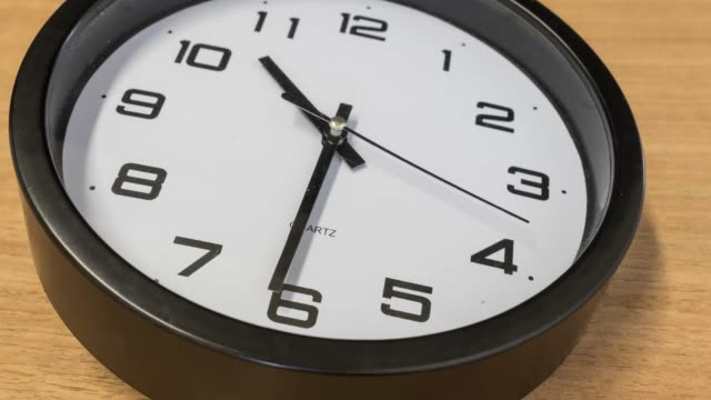rotating clock time lapse - deadline stock videos and b-roll footage