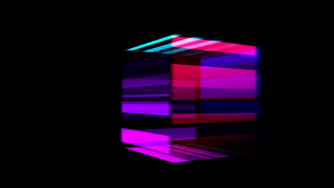 rotating cube - cube shape stock videos & royalty-free footage