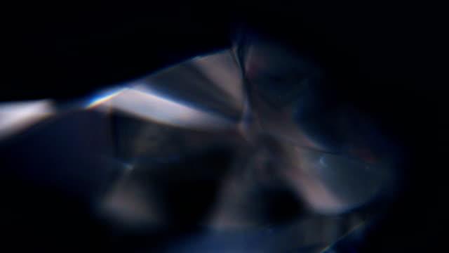 rotating diamond close up - visual effect stock videos & royalty-free footage