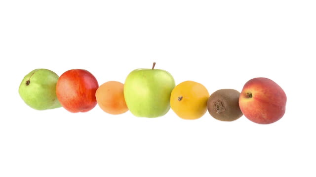 HD : Rotation de fruits