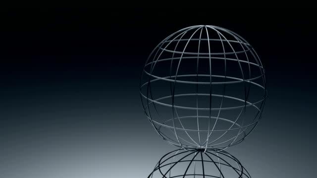 rotating globe - metalltråd bildbanksvideor och videomaterial från bakom kulisserna