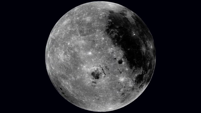 rotating moon - spinning stock videos & royalty-free footage