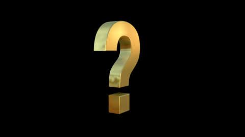 vidéos et rushes de marque de quesiton rotatif - demander