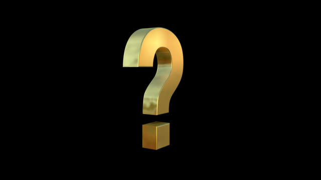 rotating quesiton mark - question mark stock videos & royalty-free footage