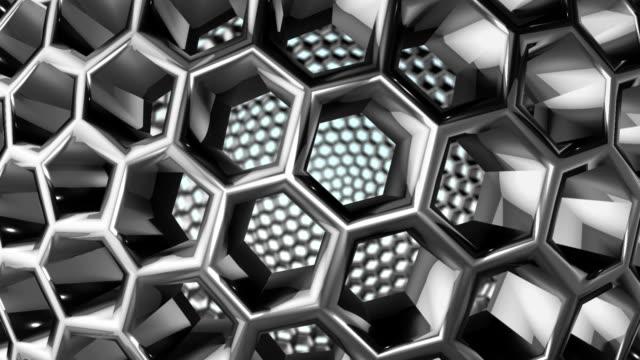 rotating sphere - steel stock videos & royalty-free footage