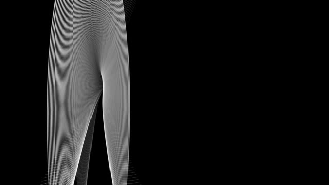 rotating wing-like shapes - greyscale stock videos & royalty-free footage