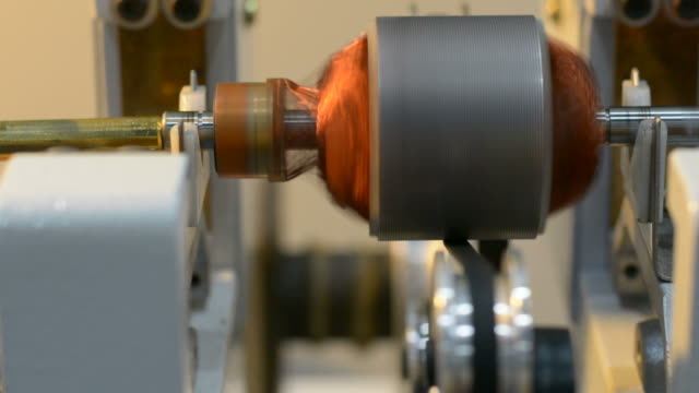rotation of a motor coil - motor stock videos & royalty-free footage