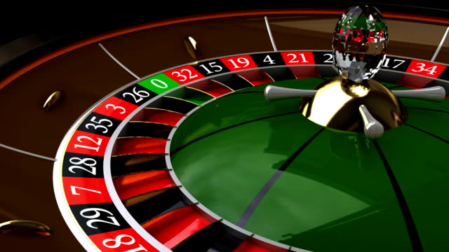 rotation the roulette, hd, loop/cycle - roulette stock videos and b-roll footage