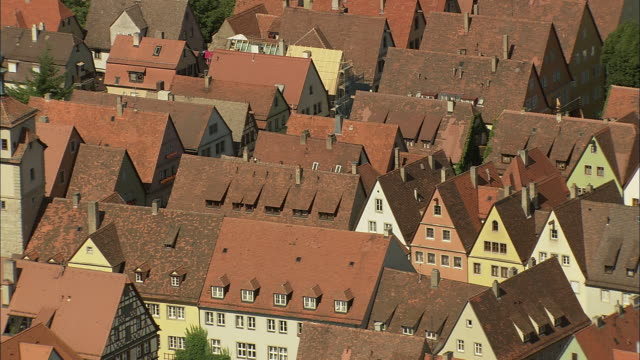 rothenburg centre - rothenburg stock videos and b-roll footage
