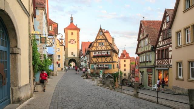 rothenburg ob der tauber - rothenburg stock videos and b-roll footage