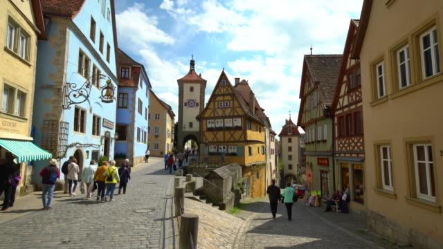 4K - Rothenburg ob der Tauber