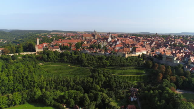 rothenburg ob der tauber - romantic road germany stock videos and b-roll footage