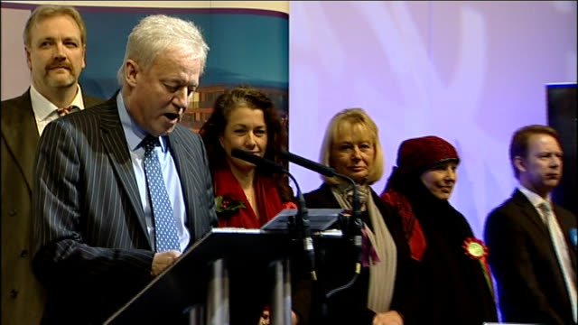strong showing by ukip england south yorkshire rotherham int returning officer announcing sarah champion as victor in rotherham byelection sarah... - 2012 stock videos and b-roll footage