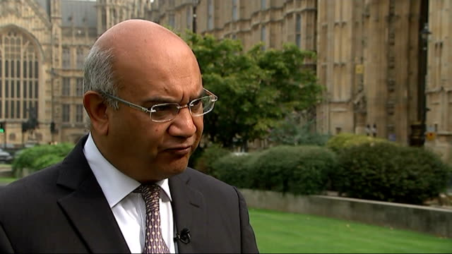 south yorkshire police commissioner shaun wright resigns london ext keith vaz mp interview sot it would be churlish not to accept his resignation... - south yorkshire stock videos and b-roll footage