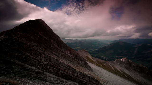 rothorn kulm timelapse - lake thun stock videos and b-roll footage