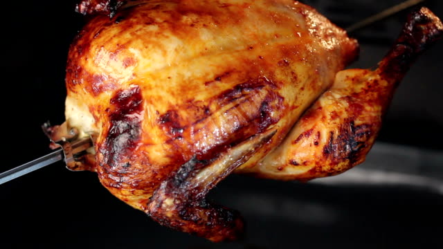 rotisserie chicken - full length stock videos & royalty-free footage