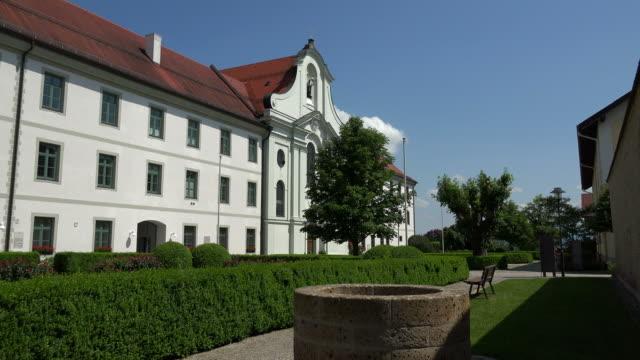 Rott Abbey in Rott am Inn, Upper Bavaria, Bavaria, Germany