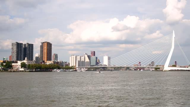 Rotterdam Skyline, panning