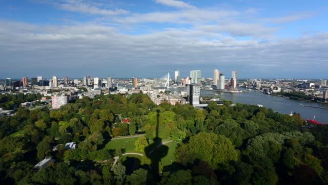 rotterdam skyline, time lapse - rotterdam stock videos and b-roll footage