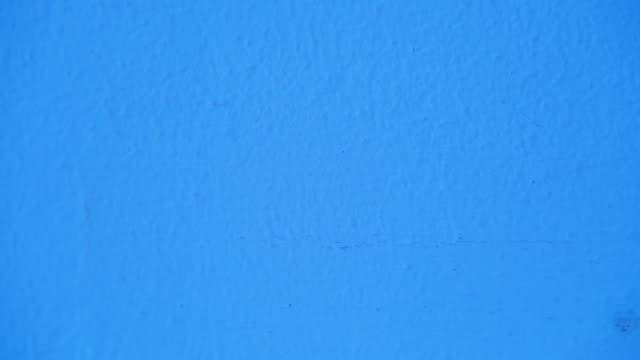 vídeos y material grabado en eventos de stock de fondo de pared azul áspero - estabilidad