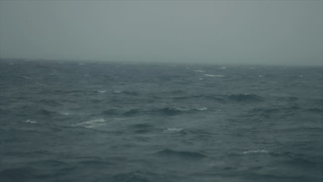 rough north sea during winter days sailing - north sea stock videos & royalty-free footage