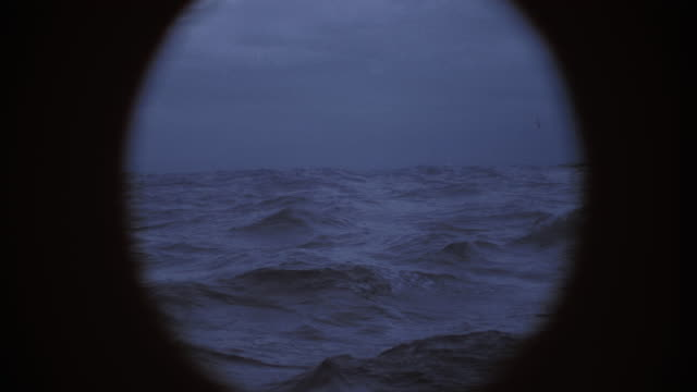 rough sea from a sailing boat - rough stock videos & royalty-free footage