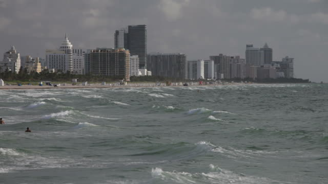 Rough Meer in South Beach