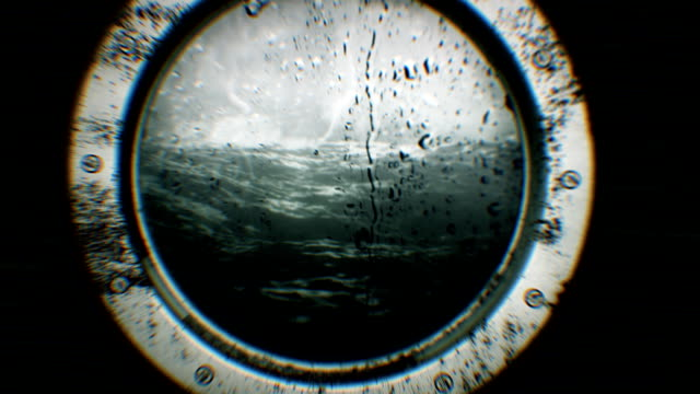 rough seas (loopable) - ship stock videos & royalty-free footage