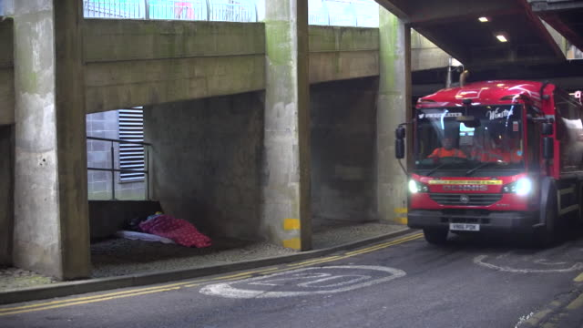 rough sleepers on the streets in newcastle upon tyne - housing difficulties stock videos & royalty-free footage