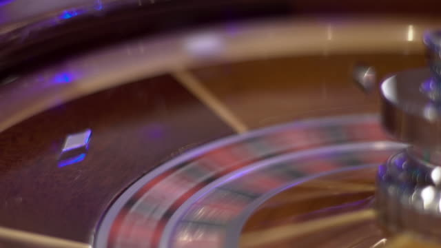 roulette - ball spin - roulette stock videos and b-roll footage