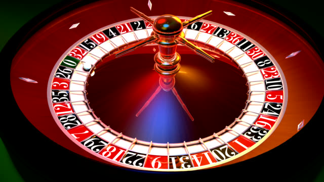 roulette casino loop - roulette wheel stock videos and b-roll footage