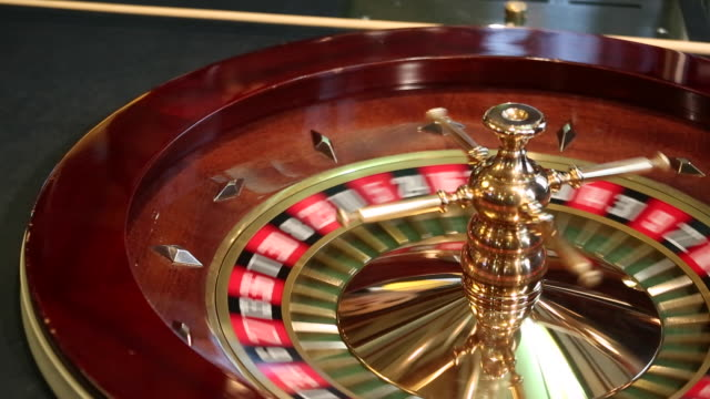 roulette in action - roulette stock videos and b-roll footage