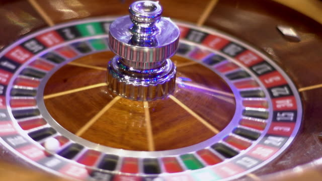 roulette - number 19 - roulette stock videos and b-roll footage