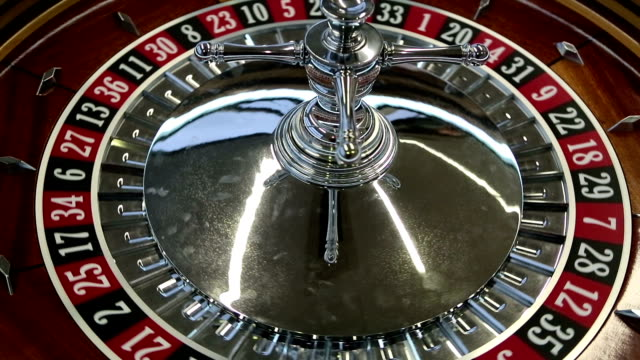 roulette numbers spinning - roulette stock videos and b-roll footage
