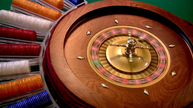 roulette spinning - roulette stock videos and b-roll footage
