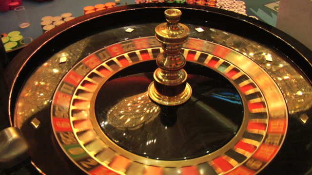 roulette wheel and lucky 13 - luck stock videos & royalty-free footage