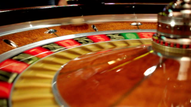 roulettehjulet i casino - nummer 4 bildbanksvideor och videomaterial från bakom kulisserna