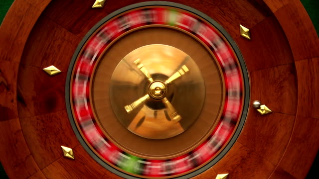 roulette wheel slo-mo - roulette stock videos and b-roll footage