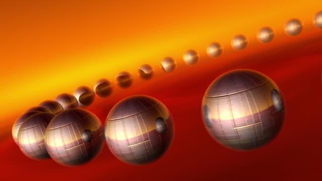 円形 hd1080 、ntsc 、pal - 永久運動点の映像素材/bロール