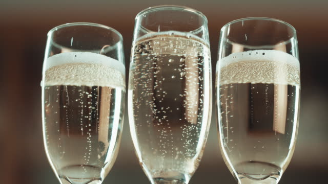 a round of sparkles for everyone - carbonated stock videos & royalty-free footage