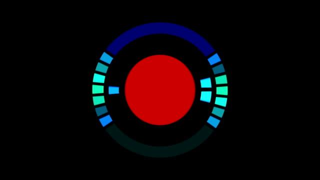 Round sound meters