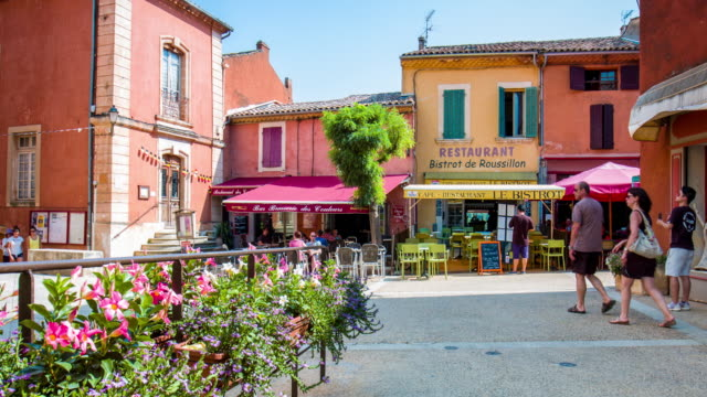 roussillon - luberon stock videos & royalty-free footage