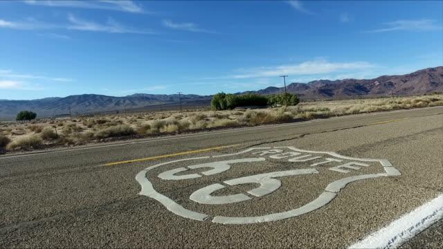 vídeos y material grabado en eventos de stock de route 66 - route 66